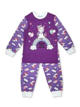 Пижама для девочки Россия Мо090-2 в магазине Тотошка (фото 2)